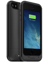 Акумуляторний чохол Mophie Juice Pack Plus для iPhone 5/5S/SE на 2100mAh [Чорний], фото 1