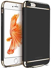 Дизайнерский аккумуляторный чехол Joyroom для iPhone 6 plus/6S plus на 3500mAh [3 500 mAh, Черный]