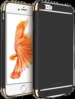 Дизайнерский аккумуляторный чехол Joyroom для iPhone 6 plus/6S plus на 3500mAh [3 500 mAh, Черный], фото 1