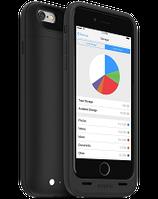 Аккумуляторный чехол с дополнительной памятью Mophie Space Pack для iPhone 6/6S на 3300mAh [16 Гб, Черный], фото 1