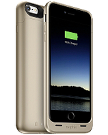 Аккумуляторный чехол Mophie Juice Pack для iPhone 6 plus/6S plus на 2600mAh [Золотой], фото 1