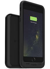 Ударостійкий акумуляторний чохол Mophie Juice Pack для iPhone 6 plus/6S plus на 2420mAh [Чорний, Чохол + станція]