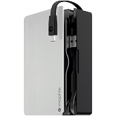 Внешняя батарея Mophie PowerStation Plus 8X со встроенным micro-USB кабелем на 12000mAh