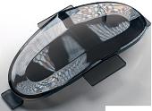 Задній тримач габаритних вогнів для моноколес Gotway MSuper [Чорний], фото 1