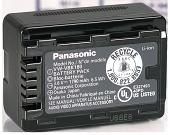 Оригинал Panasonic VW-VBK180. Аккумулятор для Panasonic HC-V700, V500, V300, HDC- TM99, TM90, TM85, TM80, TM70, фото 1