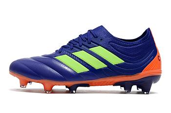 Бутсы adidas Copa 20.1 FG blue/orange/green