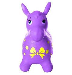 Лошадка прыгун (ослик) Metr+ фиолетовый