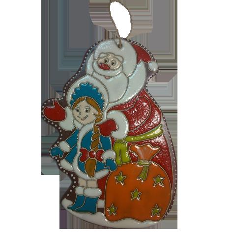 """Пласт """"Дед Мороз и Снегурка"""""""