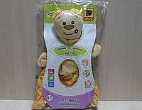Игрушка-обнимашка Медвеженок Тихоня тм Vladi Toys