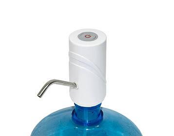 Електрична помпа для води на бутель Smart Pumping Unit K5, біла 5W, помпа для води на батарейках (SV)