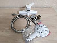 Смеситель для ванны и душа из термопластичного пластика SW Brinex 40W 010-002 пластиковый смеситель