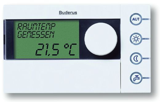 Комнатные регуляторы температуры Buderus Logamatic RC35/RC25/RC10