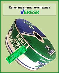Крапельна стрічка Veresk эмиттерная д. 16 мм, 8 mill, 1,3 л/ч. крок 20 див. 1000 м.