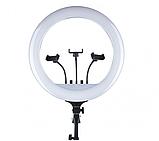 Большая кольцевая лампа 45 см со штативом RGB. Профессиональный свет. Кольцевой свет, фото 7