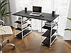 Комп'ютерний стіл лофтовый з полицями по боках з ДСП Код: VZ-21, фото 4