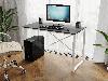 Компьютерный стол лофтовый на двух металлических ножками из ДСП Код: VZ-23, фото 2