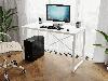 Компьютерный стол лофтовый на двух металлических ножками из ДСП Код: VZ-23, фото 3