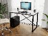 Компьютерный стол лофтовый на двух металлических ножками из ДСП Код: VZ-23, фото 7