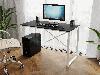 Компьютерный стол лофтовый на двух металлических ножками из ДСП Код: VZ-23, фото 8