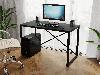 Компьютерный стол лофтовый на двух металлических ножками из ДСП Код: VZ-23, фото 10
