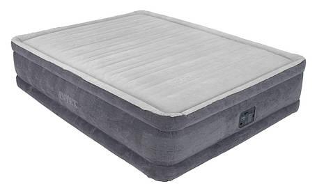 Надувной матрас - кровать полуторное со встроенным электрическим насосом 2 метра, фото 2