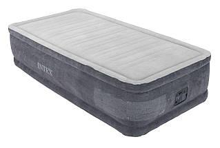 Кровать - матрас надувная одноместное  со встроенным электронасосом (190 см ) с сумкой для хранения