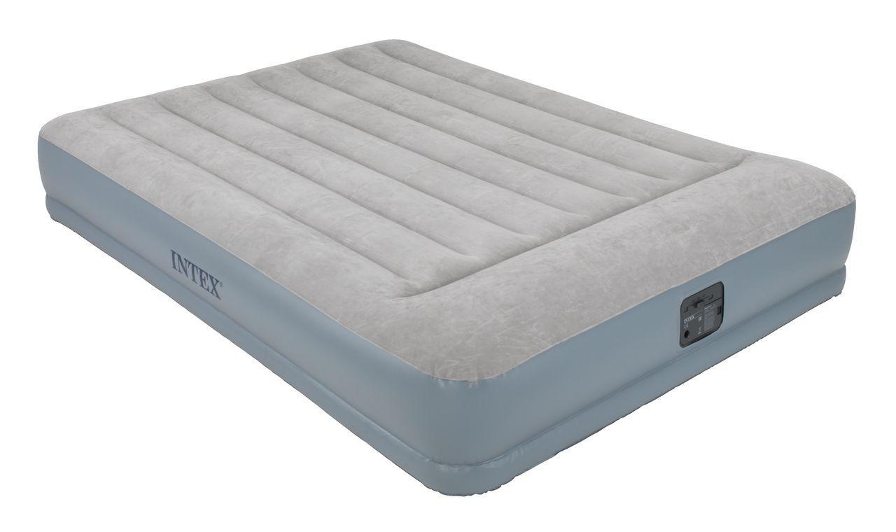 Кровать матрас надувная со встроенным электронасосом (полуторное )