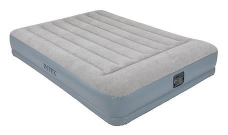 Кровать матрас надувная со встроенным электронасосом (полуторное ), фото 2