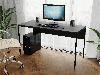 Комп'ютерний стіл лофтовый на металевих ніжках з ДСП Код: VZ-25, фото 2