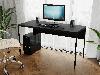 Комп'ютерний стіл лофтовый на металевих ніжках з ДСП Код: VZ-25, фото 3