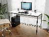 Комп'ютерний стіл лофтовый на металевих ніжках з ДСП Код: VZ-25, фото 5