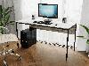 Комп'ютерний стіл лофтовый на металевих ніжках з ДСП Код: VZ-25, фото 6