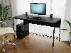 Комп'ютерний стіл лофтовый на металевих ніжках з ДСП Код: VZ-25, фото 7