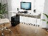 Комп'ютерний стіл лофтовый на металевих ніжках з ДСП Код: VZ-25, фото 9