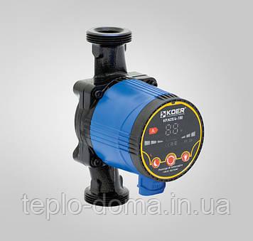 Циркуляционный насос энергосберегающий 25/6-180 (с гайками, кабелем и вилкой)