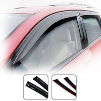 Дефлекторы окон Volkswagen Polo 4 2001-2005 HB 5-ти дверный (VW13)