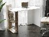 Компьютерный стол с 2 полками сбоку из ДСП Код: VZ-15, фото 5
