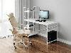 Комп'ютерний стіл лофтовый зі стелажем збоку з ДСП Код: VZ-26, фото 10