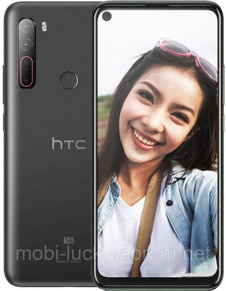 Смартфон HTC U20 8/256Gb 5G Dual Black