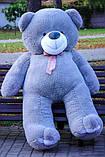 Великий плюшевий ведмідь Коричневий 200 див., фото 6