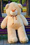 Великий плюшевий ведмідь Коричневий 200 див., фото 7