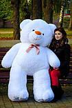 Великий плюшевий ведмідь Коричневий 200 див., фото 9