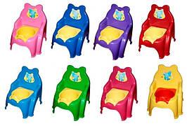 KM013317/02 Горшок детский: размер 31х31х38 см,в полиэтиленовом пакете, сьемная емкость для сбора