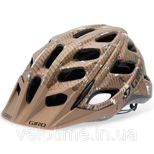 Шлем вел. Giro Hex (59-63 см, золотой)
