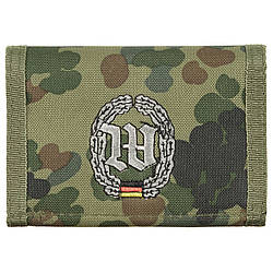 Гаманець «Бундесвер» флектарн з емблемою «батальйон охорони» MFH