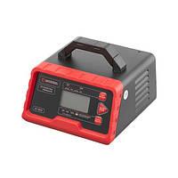Пристрій зарядний для акумуляторів 12 В-2/6/10 А, 24-2/6 А, 2.2-200 Ач, LCD-дисплей, режим відновлення