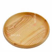Дерев'яна тарілка М05, фото 1