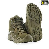 Ботинки тактические M-Tac Alligator олива 39