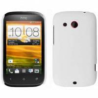 Чехол-накладка SGP для HTC Desire C (A320e) белая пластиковая
