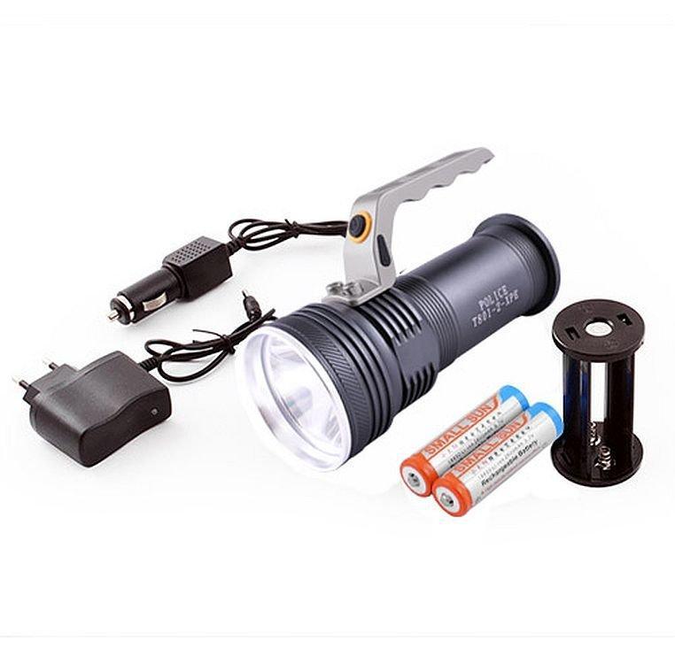 Ліхтар переносний T801-2-xpe, 2 акумулятора